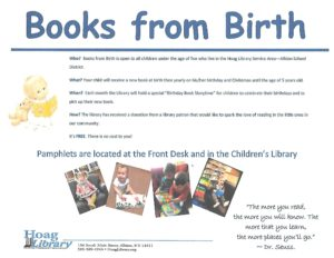 books from birth