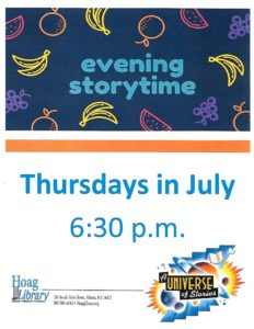 July evening stories